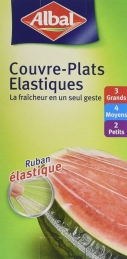Couvre-Plats élastiques - 9 unités - ALBAL