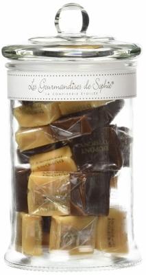 Bonbonnière de caramels assortis - 220 Grs - LES GOURMANDISES DE SOPHIE