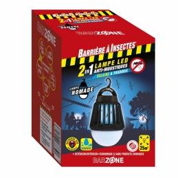 Barrière à Insectes - Ampoule LED anti-moustiques 2 en 1 - Barzone - 25 m² - BARRIERE A INSECTES