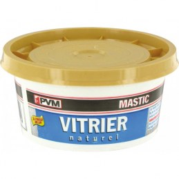 Mastic de vitrier - 500 gr - Naturel - PVM