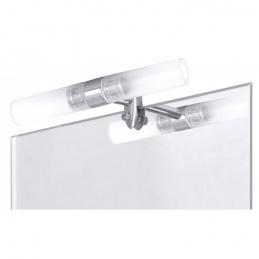 Applique de miroir de salle de bain - Acier et verre - Cosenza - RANEX