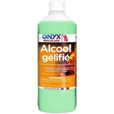 Alcool Gélifié - Allumage tous types de feu - 1 L - ONYX