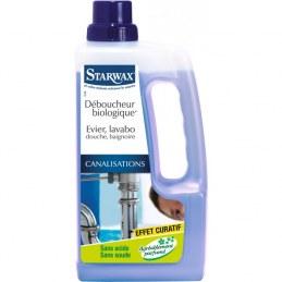 Déboucheur canalisation - Biologique - 1 L - STARWAX