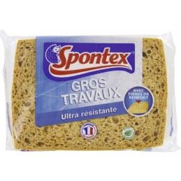 Éponge pour Gros travaux - Ultra résistante - SPONTEX