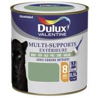 Peinture multi-supports extérieure - Satin - 0.5 L - Vert - DULUX VALENTINE