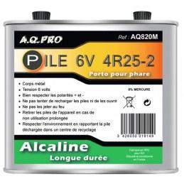 Pile pro 6 V - LR820 - 4R25-2 - ENERGIZER