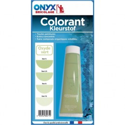 "Colorant universel ""Colortech"" - Oxyde Vert - 60 ml - ONYX"