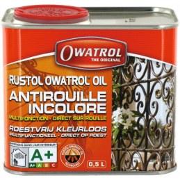 Antirouille multifonction - Additif peinture - 500 ml - Rustol OWATROL