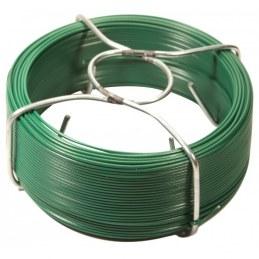 Bobinots fil attache - Acier galvanisé plastifié - Vert - 100 M - FILIAC