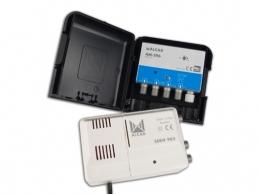 Kit amplificateur pour mat et alimentation - AM 296 - ALCAD