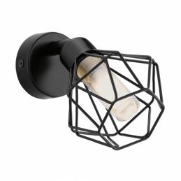 Spot en métal - 1 Led - Noir - ZAPATA - G9 - EGLO