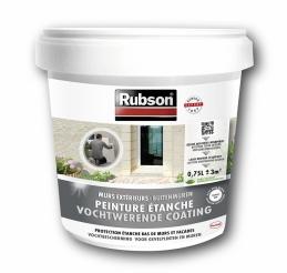 Peinture étanche pour façade - Stop infiltrations - Blanc - 0.75 L - RUBSON