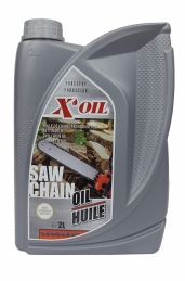 Huile super filante spéciale chaine tronconneuse - Bidon 2 l - X'OIL