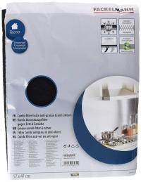 Filtre pour hotte aspirante - combi-filtre anti-graisses et anti-odeurs - 57 x 47 cm - FACKELMANN