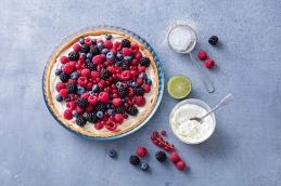 Bake & Enjoy - Moule à tarte rond en verre Ø31 cm - PYREX