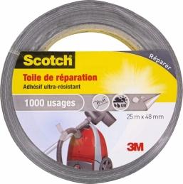 Toile adhésive de répéartion - Ultra-résistant - 1000 usages - 25 x 48 mm - SCOTCH