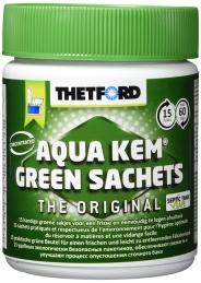Entretien des WC - Aqua Kem Green Sachets - 15 sachets - THETFORD