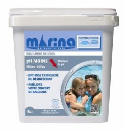 Correcteur de PH Moins - Micro-billes - 5 kg - MARINA