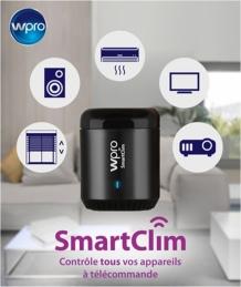 Télécommande connectée pour climatiseur fixe ou mobile - SmartClim - WPRO