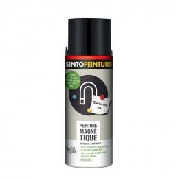 Peinture magnétique - Tous supports - Noir - 400 ml - SINTO