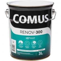 Peinture acrylique d'aspect mat - Izi'mat - Renov-300 - 3 L - COMUS