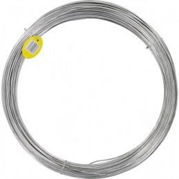 Fil de tension pour grillage - Acier galvanisé - N°16 - 25 M x 2.7 mm - FILIAC