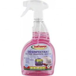 Désinfectant / nettoyant environnement animaux - 750 ml - SANITERPEN