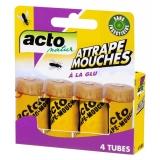 Attrape mouches - Glu - 4 Tubes - ACTO