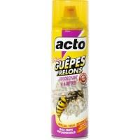 Insecticide guêpes et frelons pulvérisateur - 500 ml - ACTO