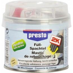 Mastic de rebouchage polyester - 250 Grs - PRESTO