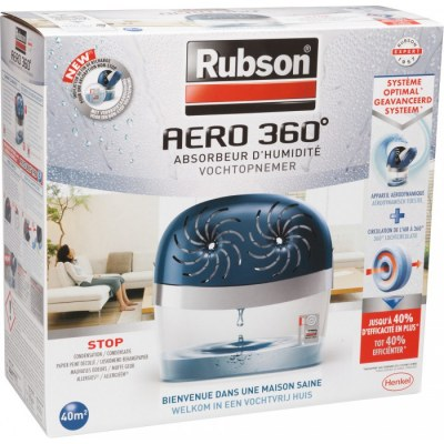 Absorbeur d'humidité Power Tab - 40m2 - RUBSON