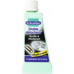 Dr.Beckmann - Diable Détacheur Rouille & Déodorant - 50 ml - Lot de 3