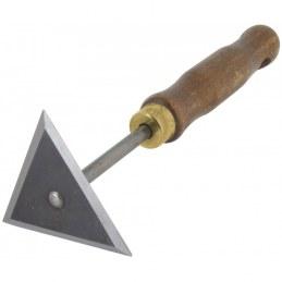 Grattoir triangulaire pour peintre - OUTIBAT
