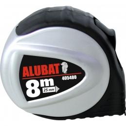 Mètre Alubat - Boitier ABS et aluminium - 8 M - OUTIBAT