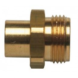 Raccord pour gaz butane/propane - A souder ø14 mm- EUROGAZ
