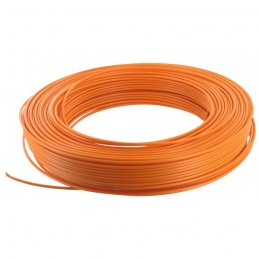 Câble d'installation H07V-U 1.5 mm² - 100 M - Orange - ELECTRALINE