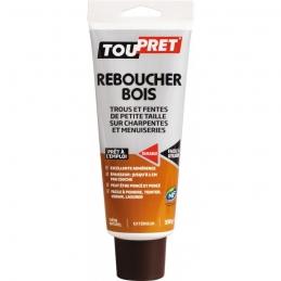 Enduit de rebouchage - Reboucher Bois - Trous et fentes - 330 Grs - TOUPRET