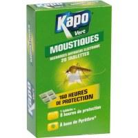 20 Recharges pour diffuseur anti-moustiques - KAPO
