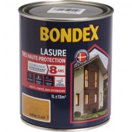 Lasure Très Haute Protection - SiliUréthane - 1 L - Chêne clair - BONDEX