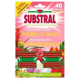 Batonnets nutritifs pour plantes fleuries - 40 Batonnets - SUBSTRAL
