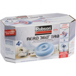 Recharges PowerTab Aero 360 pour absorbeur - Lot de 4 - RUBSON