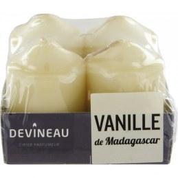 Bougies parfumées - Vanille de Madagascar - DEVINEAU