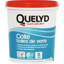 Colle pour toiles et fibres de verre - Action immédiate - 1 Kg - QUELYD