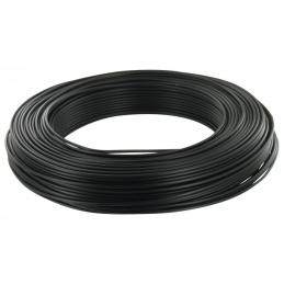 Câble d'installation H07V-U 1.5 mm² - 100 M - Noir - ELECTRALINE