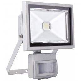 Projecteur LED étanche et inclinable avec détecteur de mouvement - 20 Watts - DHOME