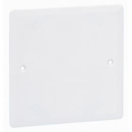 Couvercle pour boîte à encastrer Batibox plaque de plâtre - 100 x 100 mm - LEGRAND