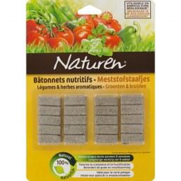 Batonnet nutritif - Légumes et herbes aromatiques - 20 batonnets - NATUREN