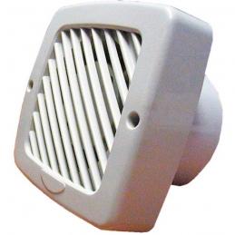 Extracteur d'air pour façade traditionnelle - 90 m³/h - 100 mm - Timer - DMO