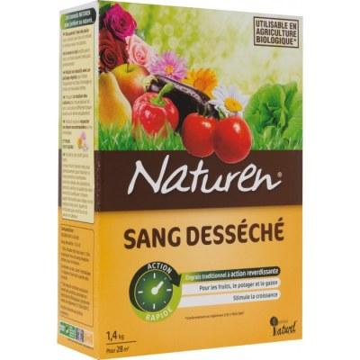 Sang desséché pour plantation du potager - 1.4 Kg - NATUREN