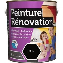 Peinture multi-surfaces - Rénovation - 2 L - Noir - BATIR